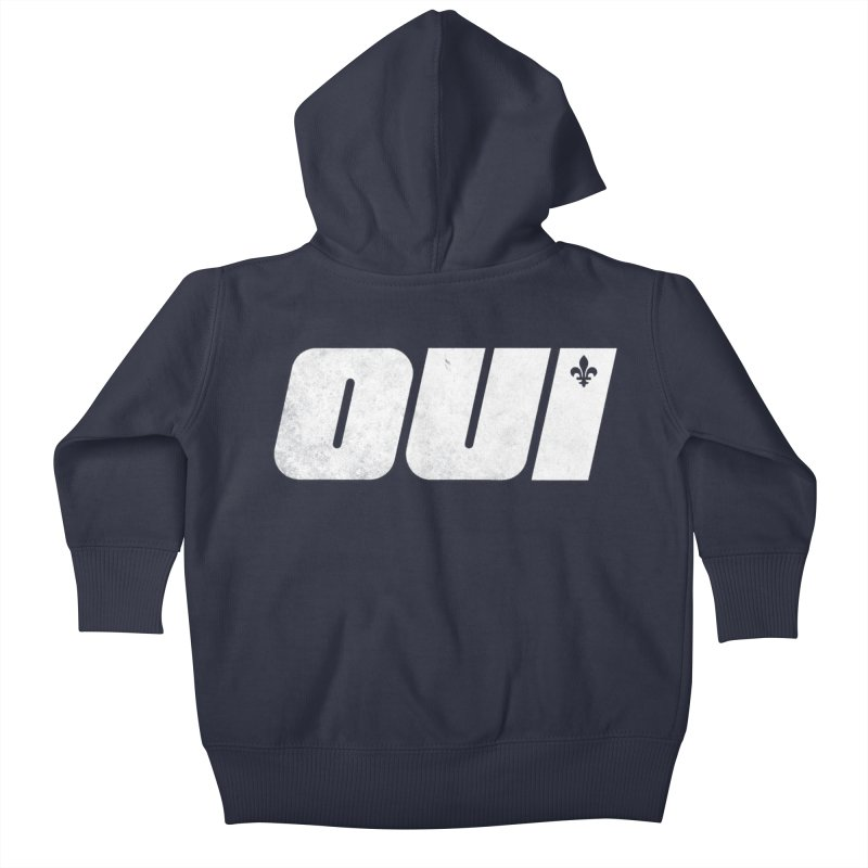 Oui Kids Baby Zip-Up Hoody by Chaudaille