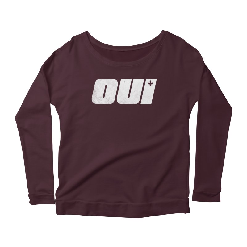 Oui Women's Longsleeve T-Shirt by Chaudaille