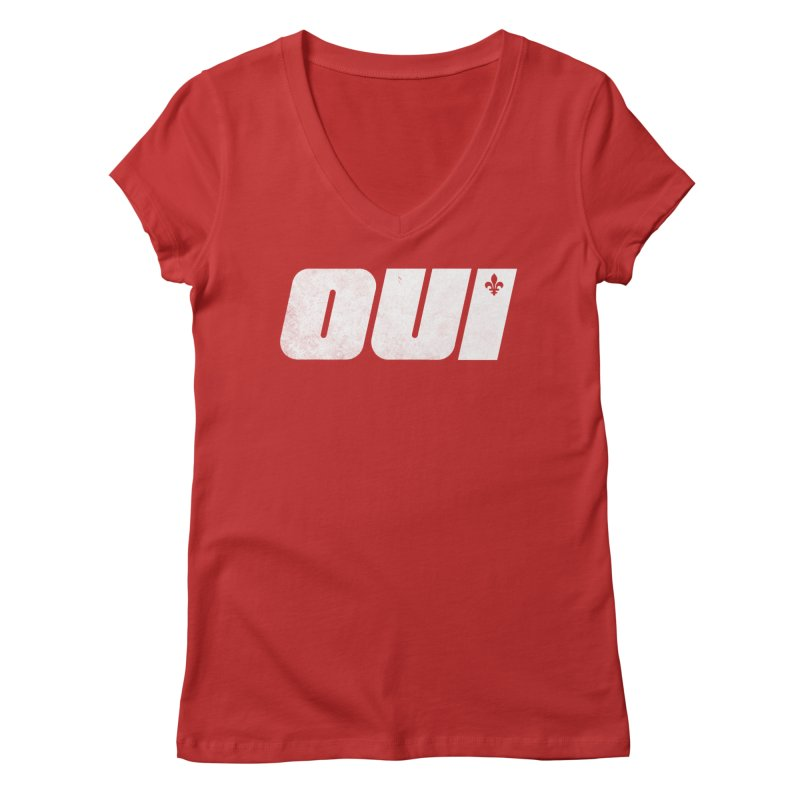 Oui Women's Regular V-Neck by Chaudaille