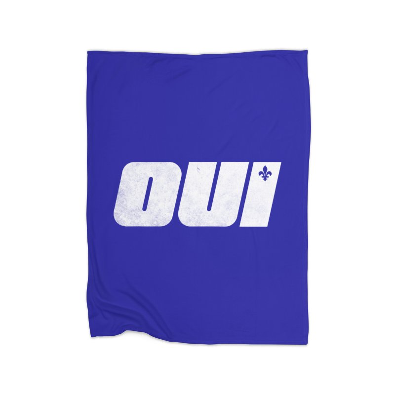 Oui Home Blanket by Chaudaille