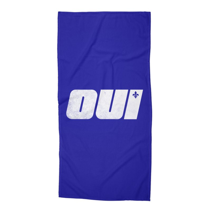 Oui Accessories Beach Towel by Chaudaille