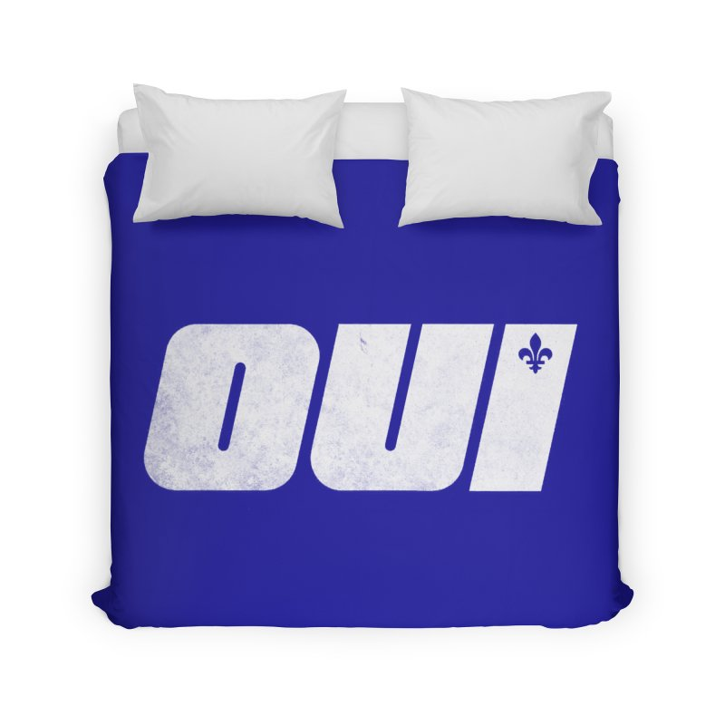 Oui Home Duvet by Chaudaille