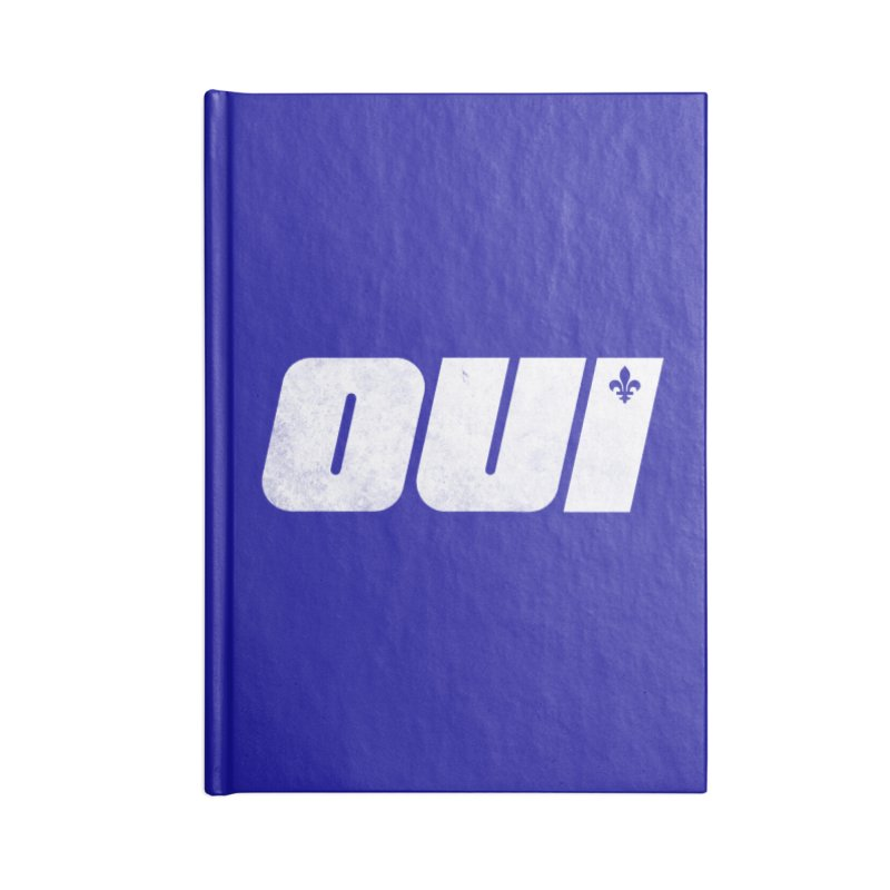 Oui Accessories Blank Journal Notebook by Chaudaille