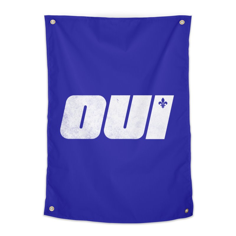 Oui Home Tapestry by Chaudaille