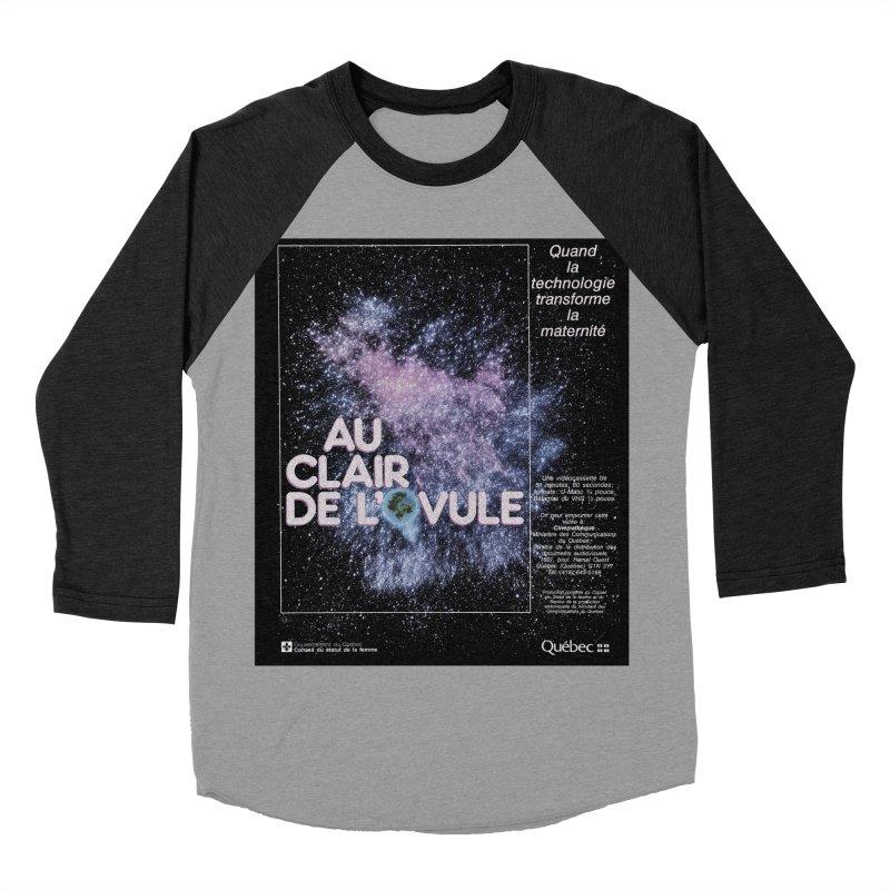 Au clair de l'ovule Men's Baseball Triblend T-Shirt by Chaudaille