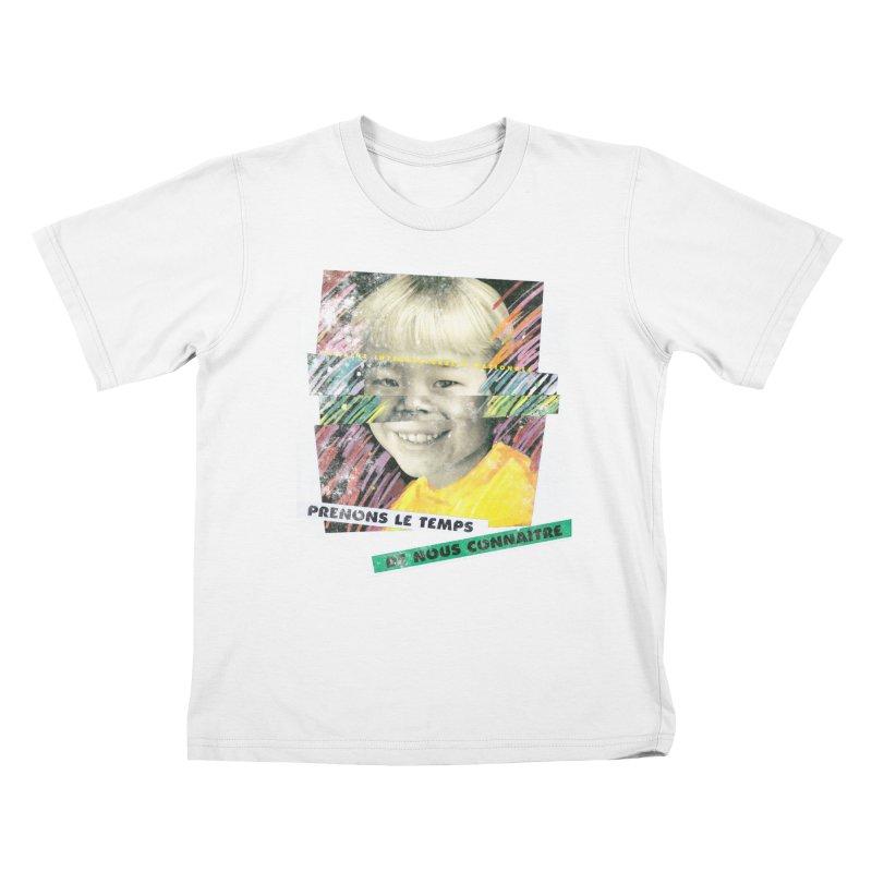Prenons le temps de nous connaitre Kids T-Shirt by Chaudaille