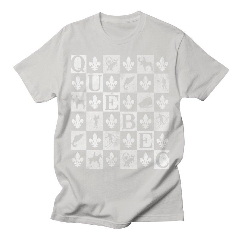 Québec Men's T-Shirt by Chaudaille