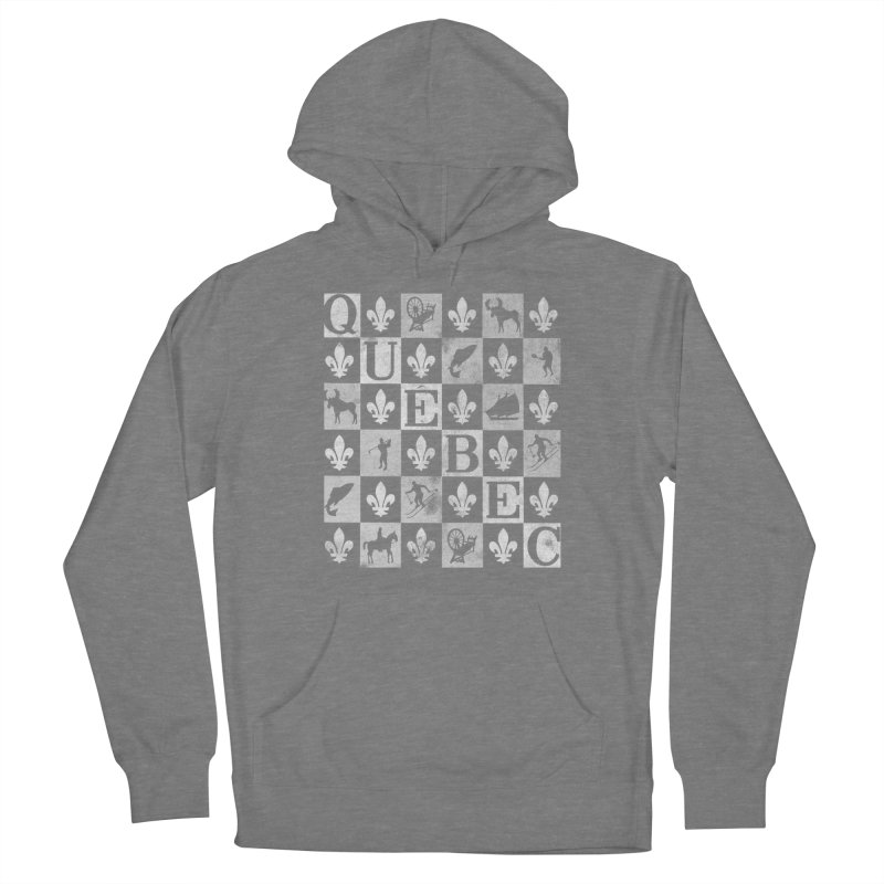 Québec Men's Pullover Hoody by Chaudaille