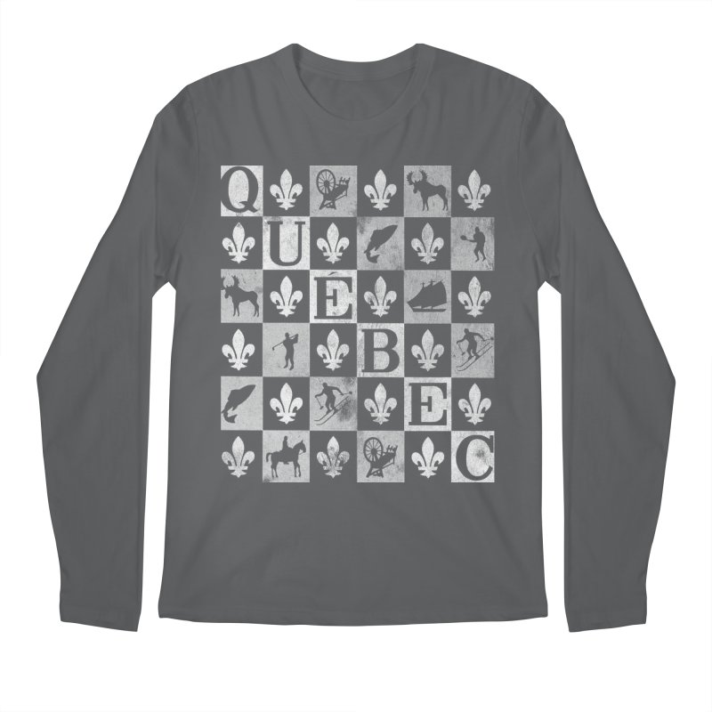 Québec Men's Longsleeve T-Shirt by Chaudaille
