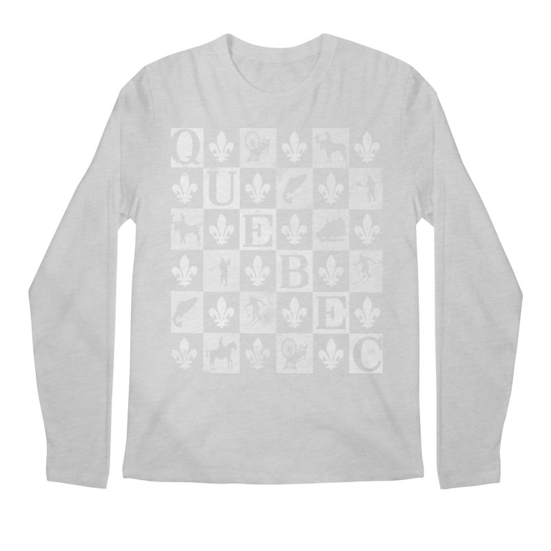 Québec Men's Regular Longsleeve T-Shirt by Chaudaille