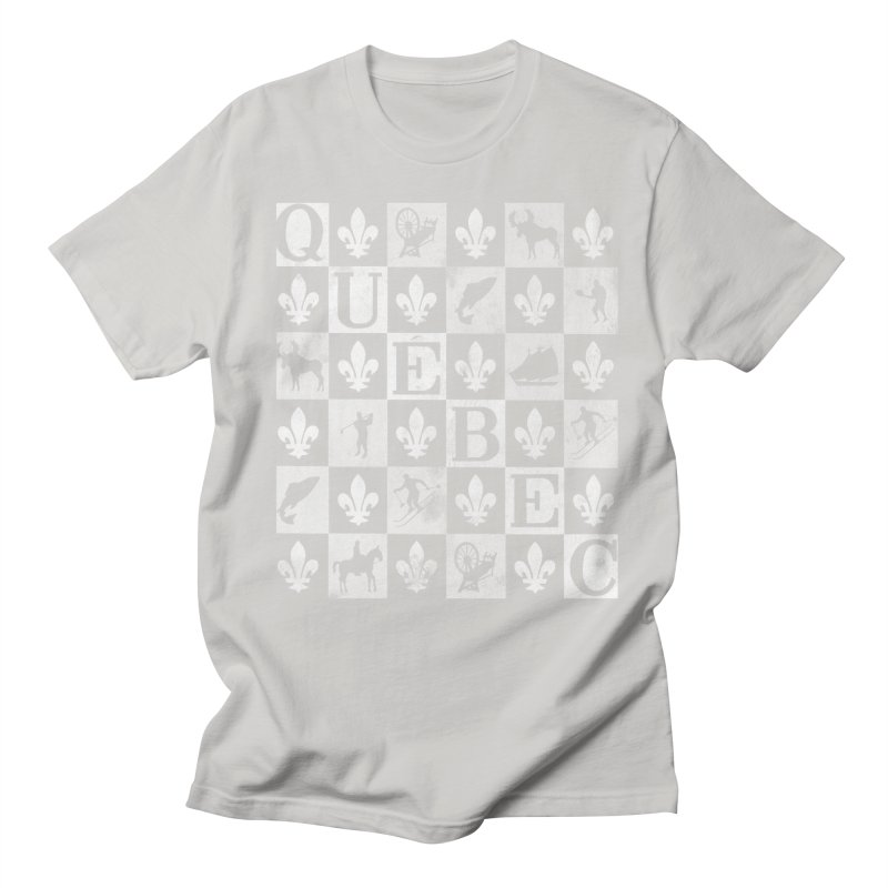 Québec Women's Regular Unisex T-Shirt by Chaudaille