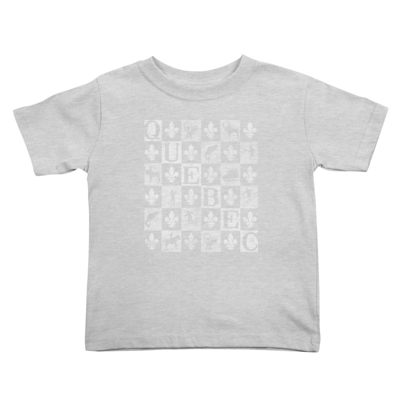 Québec Kids Toddler T-Shirt by Chaudaille
