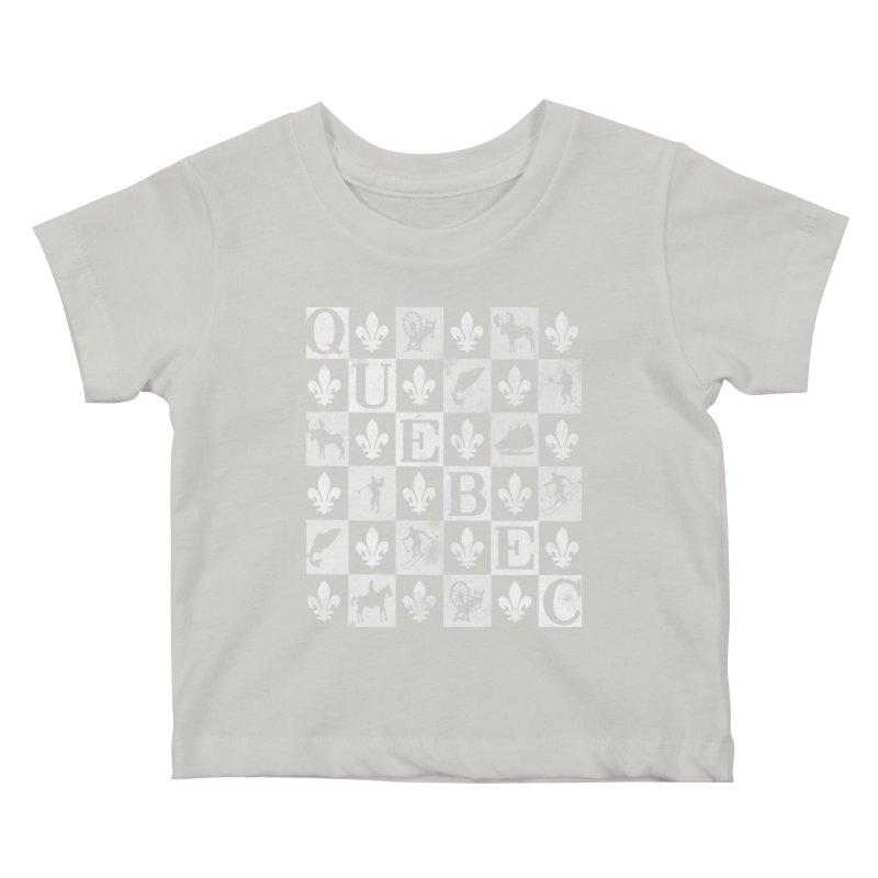 Québec Kids Baby T-Shirt by Chaudaille