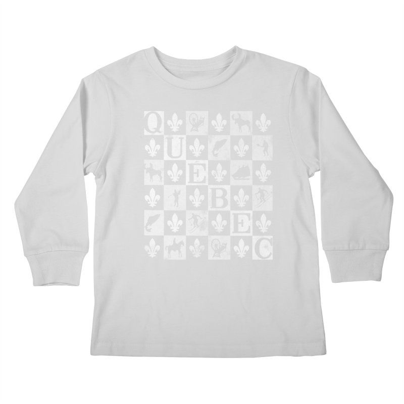 Québec Kids Longsleeve T-Shirt by Chaudaille