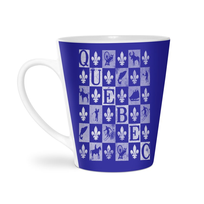 Québec Accessories Latte Mug by Chaudaille