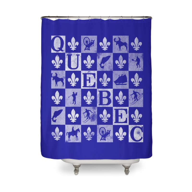 Québec Home Shower Curtain by Chaudaille