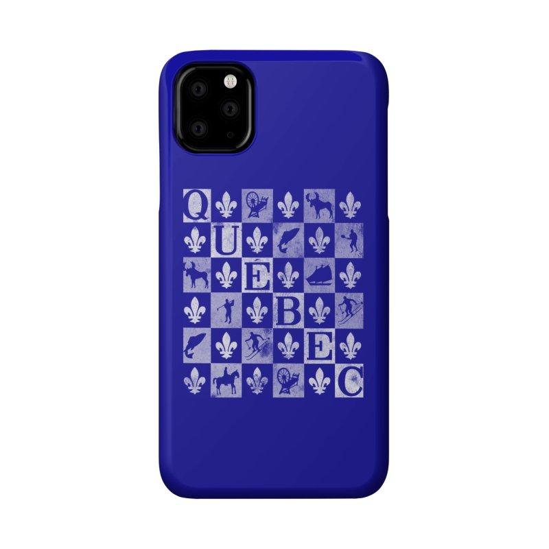 Québec Accessories Phone Case by Chaudaille