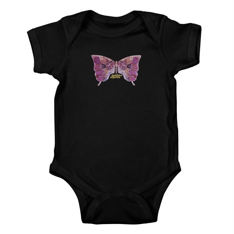 Québec Science Kids Baby Bodysuit by Chaudaille