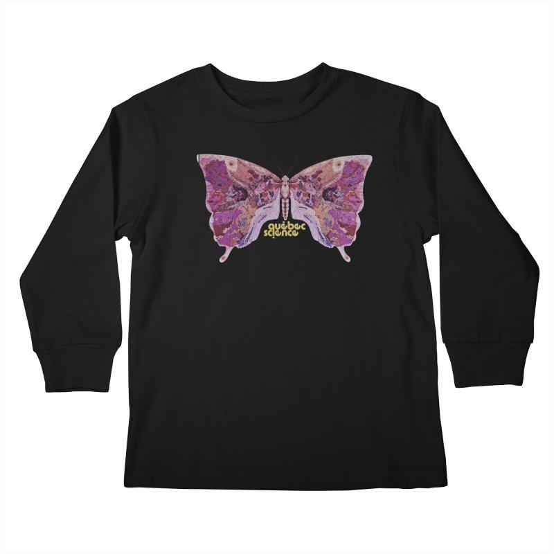 Québec Science Kids Longsleeve T-Shirt by Chaudaille