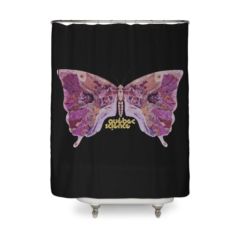 Québec Science Home Shower Curtain by Chaudaille