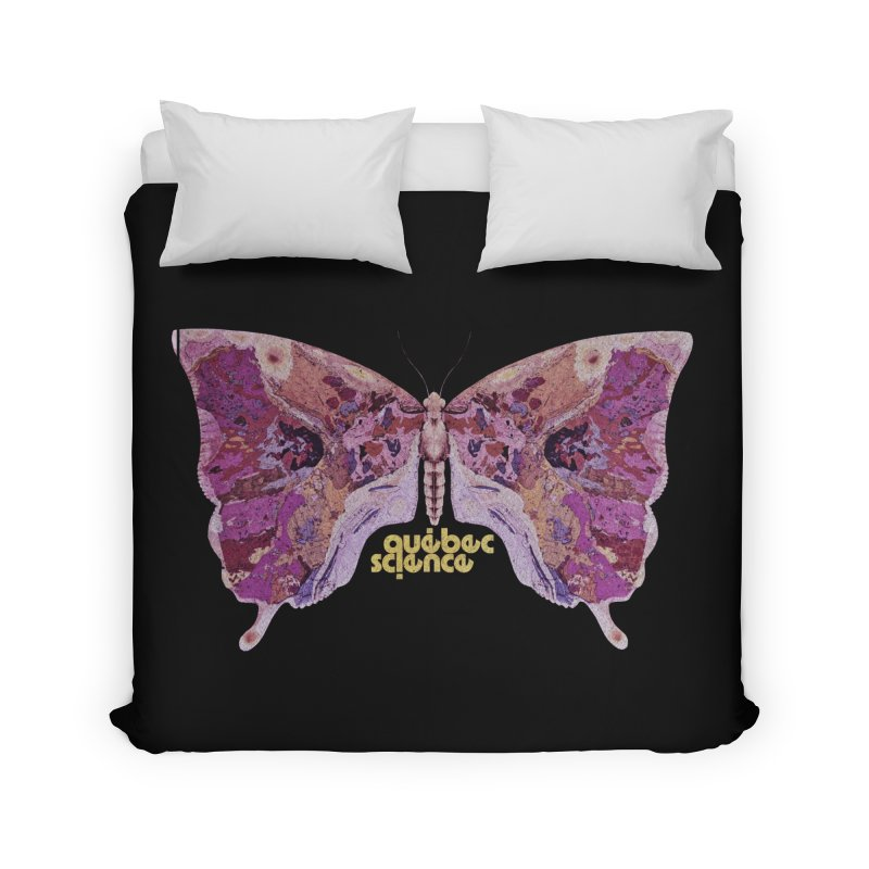 Québec Science Home Duvet by Chaudaille