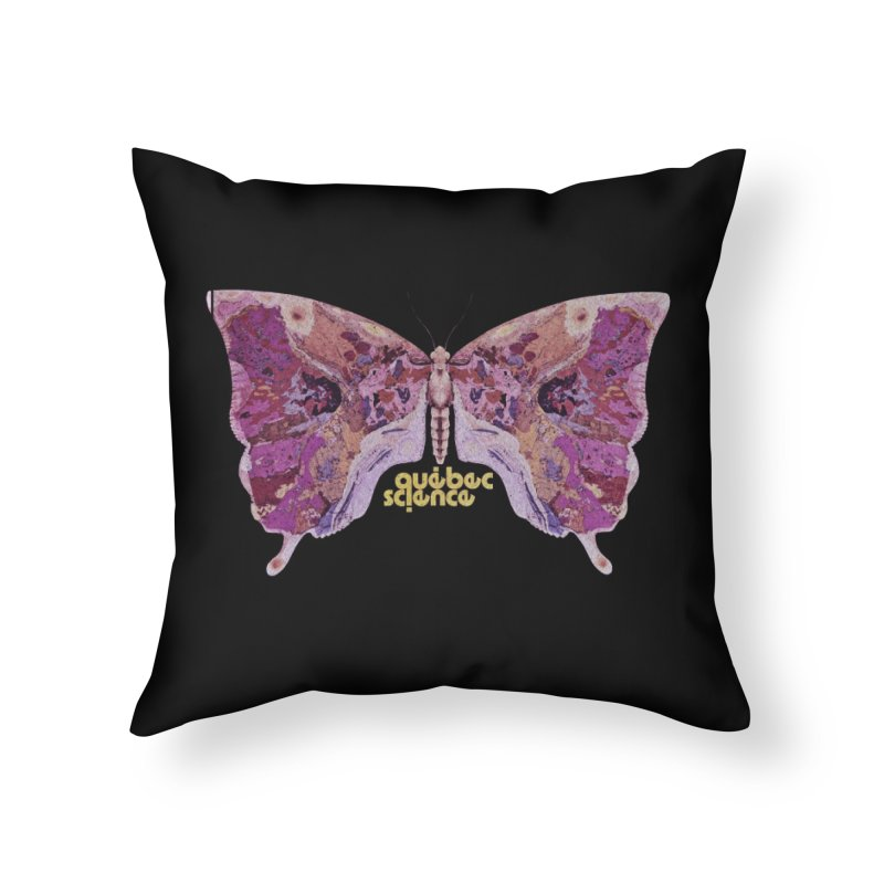 Québec Science Home Throw Pillow by Chaudaille
