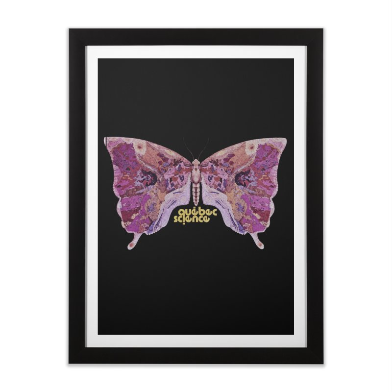 Québec Science Home Framed Fine Art Print by Chaudaille