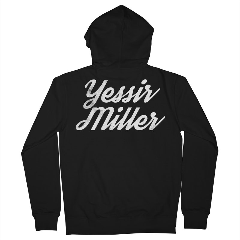Yessir Miller Men's French Terry Zip-Up Hoody by Chaudaille