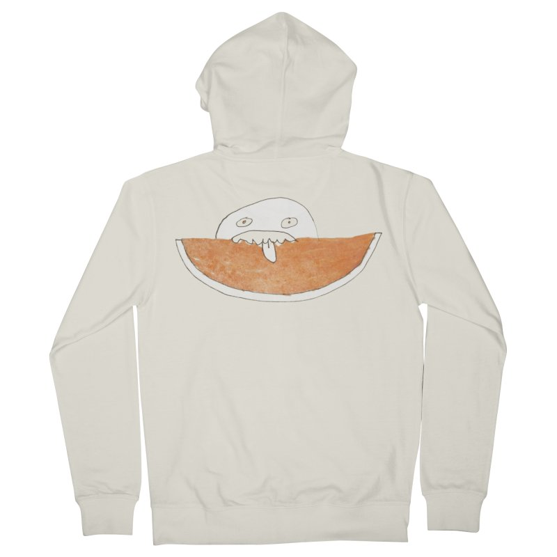 Every night I dream of Cantalouuuu Men's French Terry Zip-Up Hoody by Chaudaille