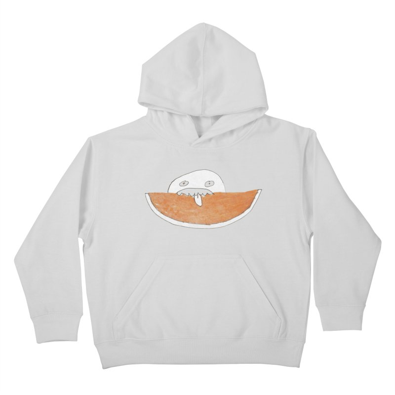 Every night I dream of Cantalouuuu Kids Pullover Hoody by Chaudaille