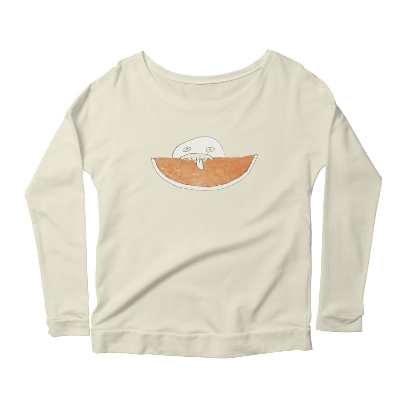 Every night I dream of Cantalouuuu Women's Scoop Neck Longsleeve T-Shirt by Chaudaille