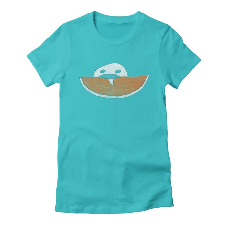 Every night I dream of Cantalouuuu Women's Fitted T-Shirt by Chaudaille