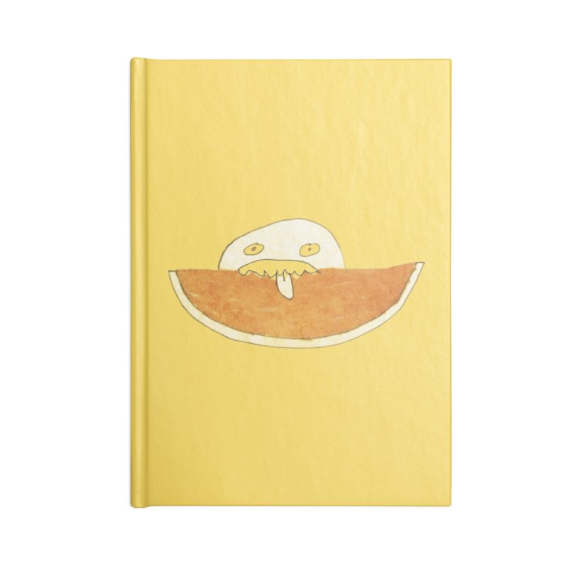 Every night I dream of Cantalouuuu Accessories Blank Journal Notebook by Chaudaille