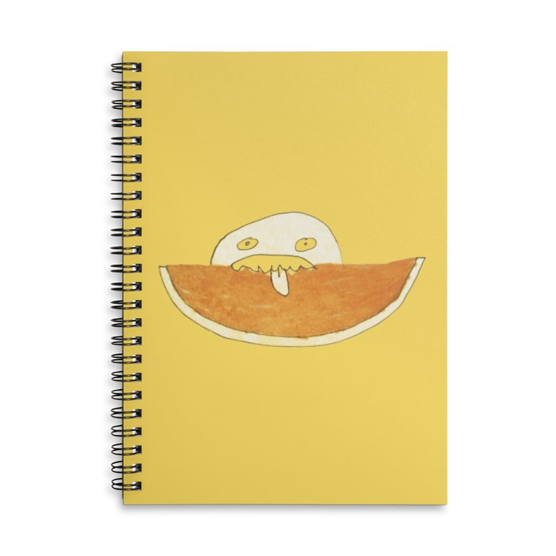 Every night I dream of Cantalouuuu Accessories Lined Spiral Notebook by Chaudaille