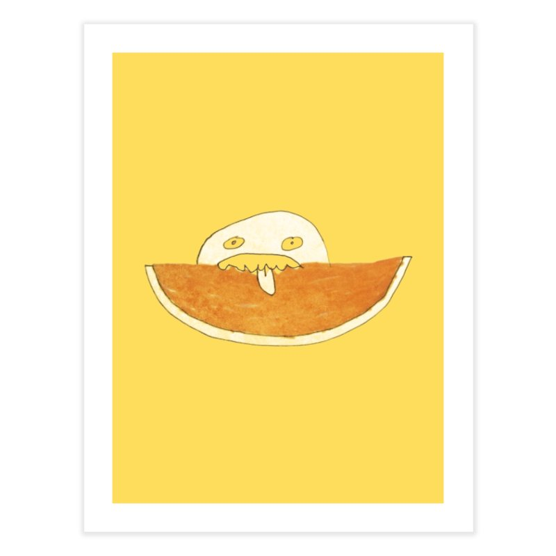 Every night I dream of Cantalouuuu Home Fine Art Print by Chaudaille