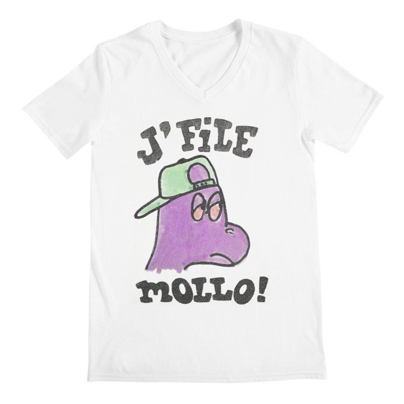 J'file mollo Men's V-Neck by Chaudaille