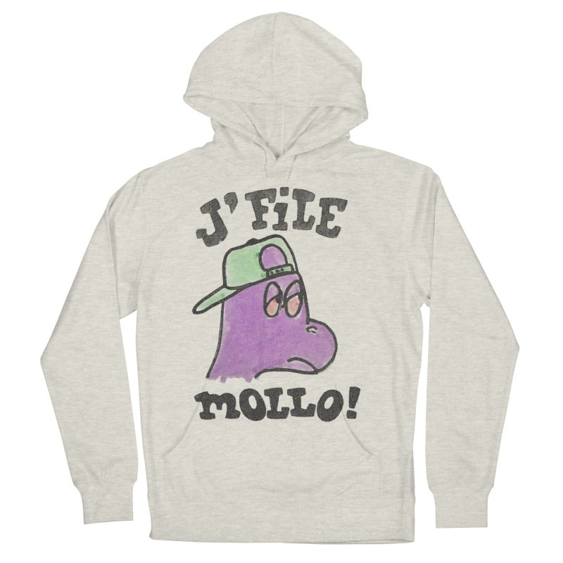 J'file mollo Men's French Terry Pullover Hoody by Chaudaille