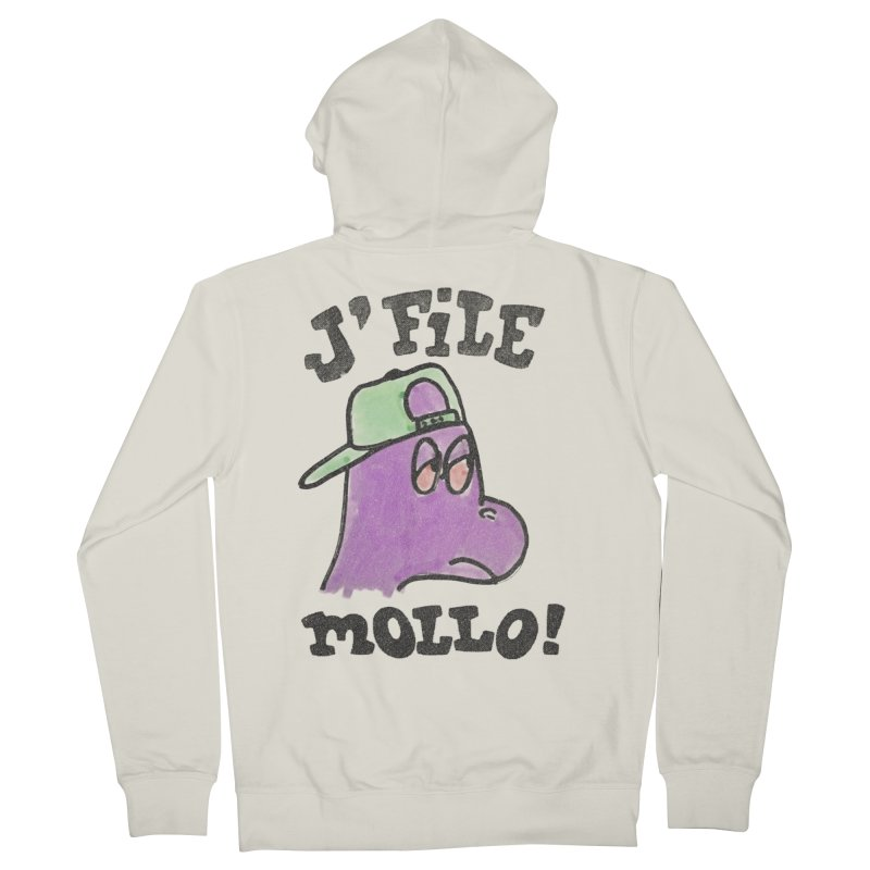J'file mollo Women's French Terry Zip-Up Hoody by Chaudaille
