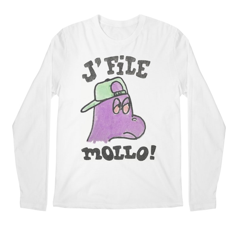 J'file mollo Men's Regular Longsleeve T-Shirt by Chaudaille