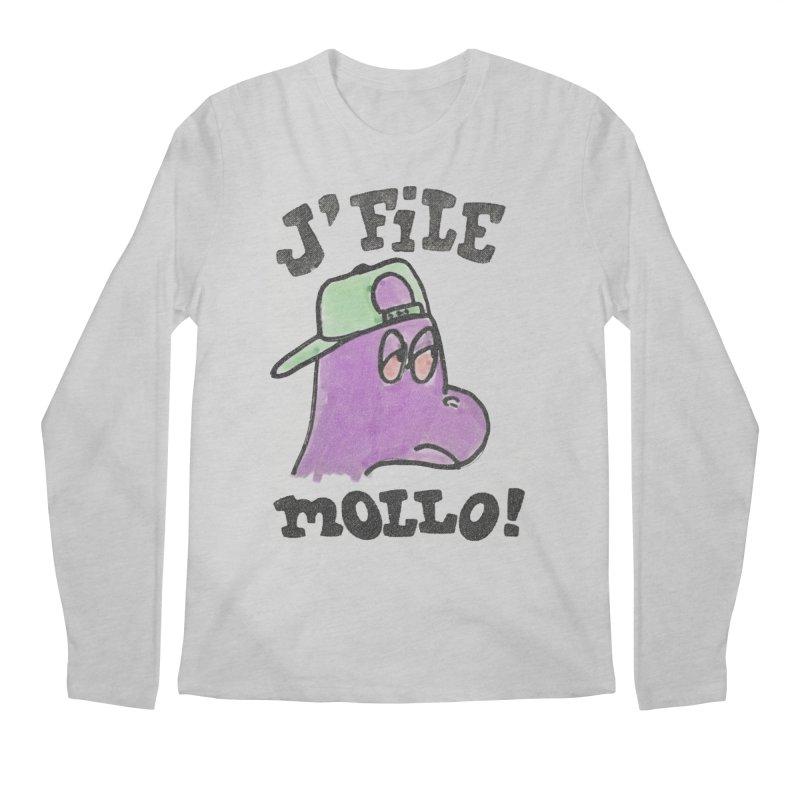 J'file mollo Men's Regular Longsleeve T-Shirt by Chaudaille