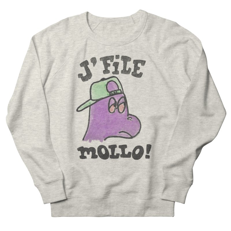 J'file mollo Women's French Terry Sweatshirt by Chaudaille