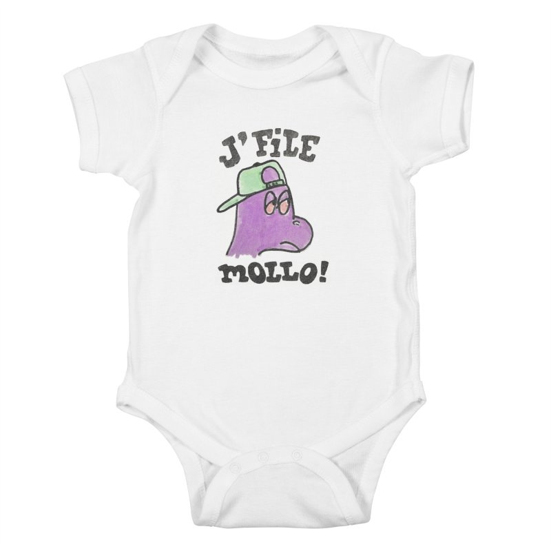 J'file mollo Kids Baby Bodysuit by Chaudaille