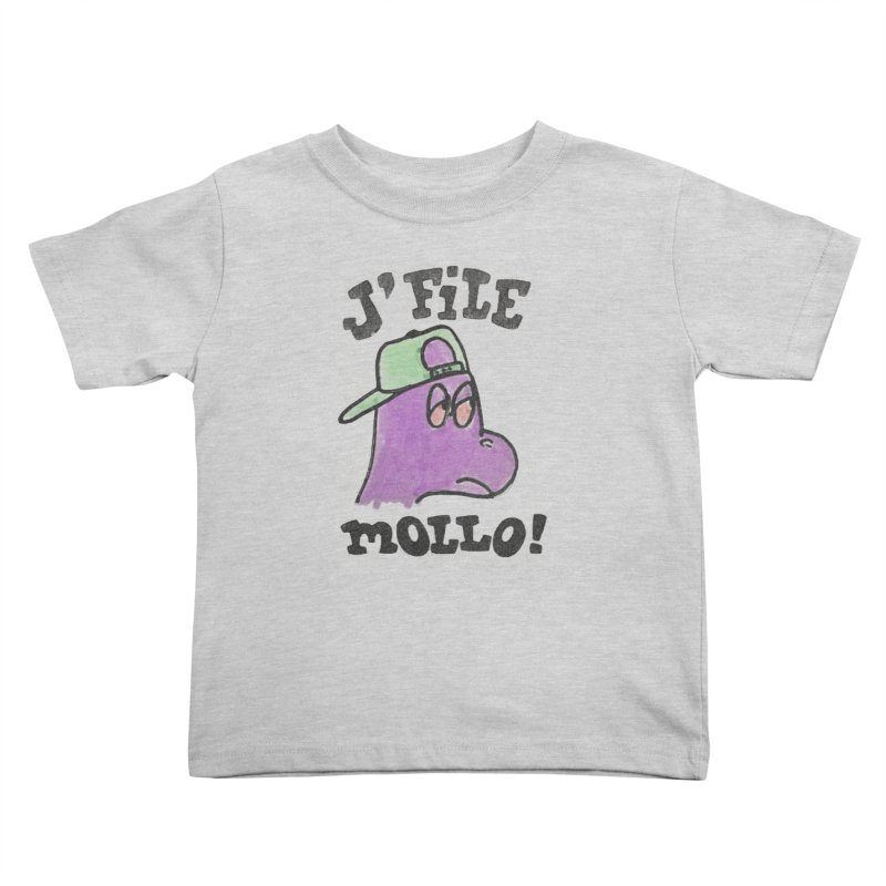 J'file mollo Kids Toddler T-Shirt by Chaudaille