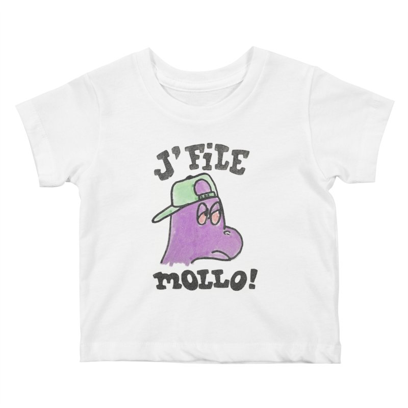 J'file mollo Kids Baby T-Shirt by Chaudaille