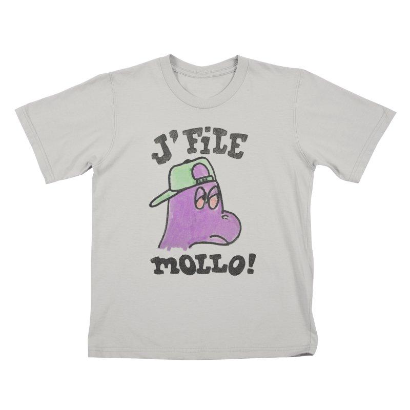 J'file mollo Kids T-Shirt by Chaudaille