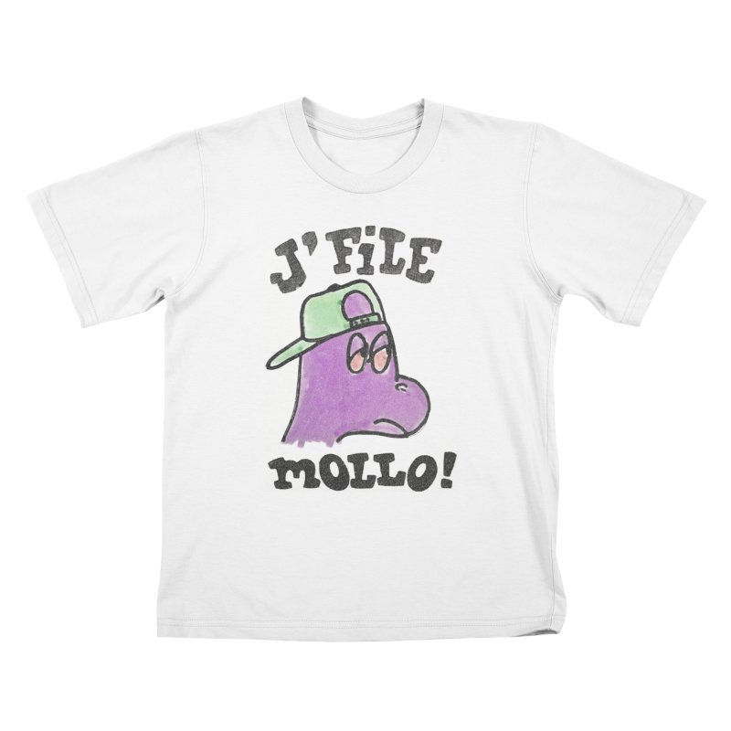 J'file mollo Kids T-Shirt by Chaudaille