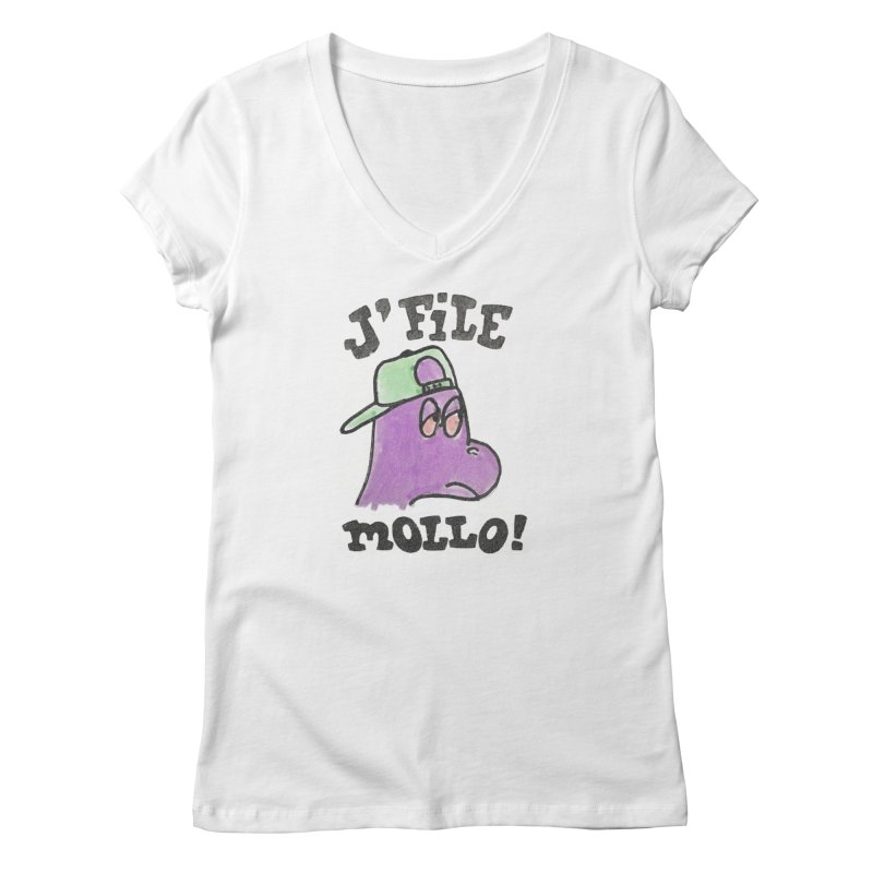 J'file mollo Women's V-Neck by Chaudaille