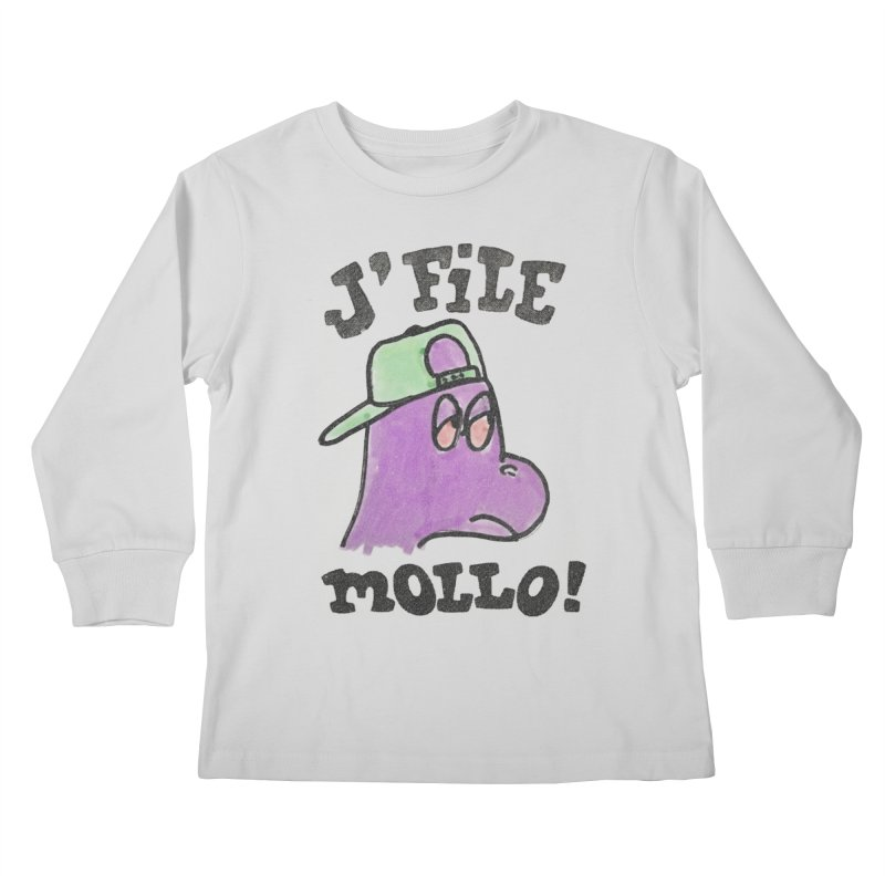 J'file mollo Kids Longsleeve T-Shirt by Chaudaille