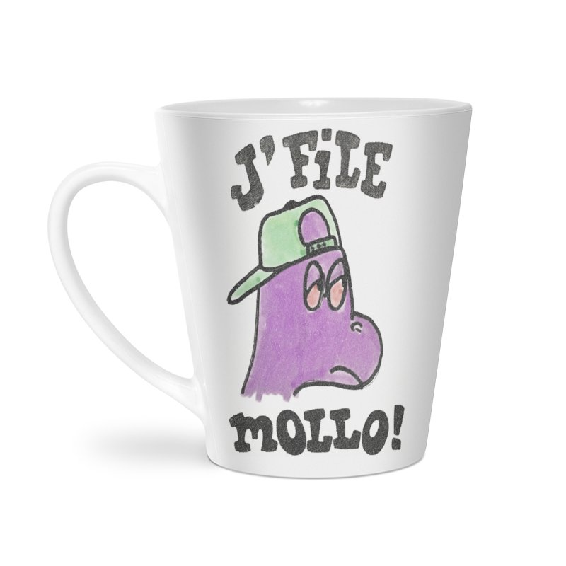 J'file mollo Accessories Latte Mug by Chaudaille