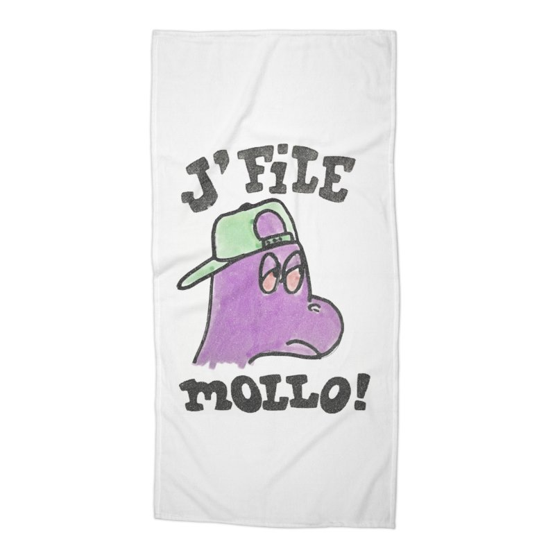 J'file mollo Accessories Beach Towel by Chaudaille